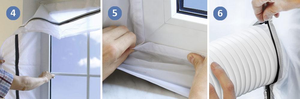 Kā uzstādīt mobilo gaisa kondicionieri